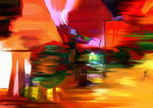 Tablou abstract 007