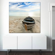 Tablou Barca in Peisaj de Mare BFS3