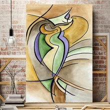 Tablou Canvas Abstract FAB4