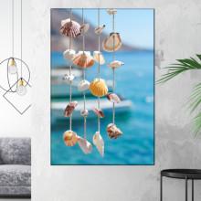 Tablou Canvas Decoratiune cu Scoici de Mare GRTV24