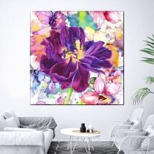 Tablou Canvas Floral, Carnaval de Culori BFL53