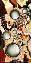 Tablou canvas fractal art 07