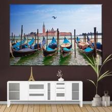 Tablou Canvas Gondole in Venetia IVE30