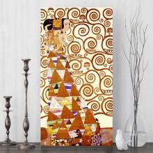 Tablou Canvas Gustav Klimt, Asteptarea OPOGK1