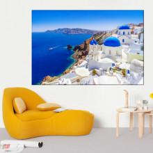 Tablou Canvas Insula Santorini, Grecia ISS26