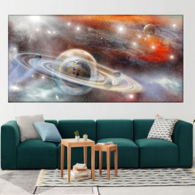 Tablou Canvas Planete in Univers OUS32