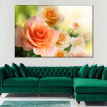 Tablou Canvas Trandafiri Portocalii ROS61
