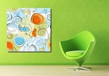 Tablou floral-abstract-modern 01