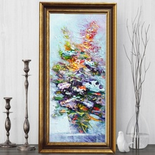 Tablou Floral FAS115, Canvas+Rama