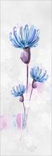 Tablou modern floral blue 01