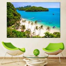 Tablou Plaja Tropicala in Thailanda PTH2