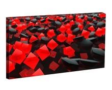 Tablou rosu si negru abstract tabsto2