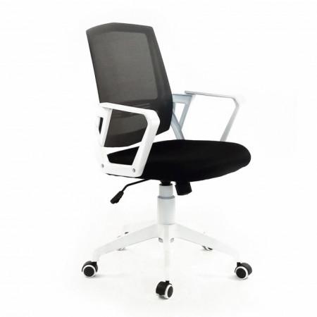 Scaun ergonomic Blanca rotativ, piele ecologica, suport lombar fix