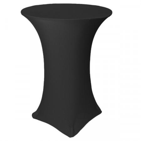 Poze Husa elastica din Lycra pentru masa cocktail, Negru