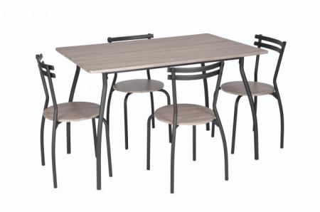 set masa cu 4 scaune