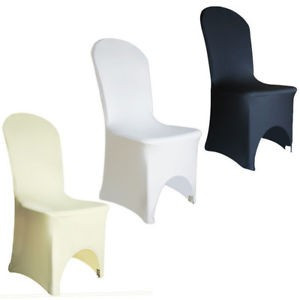 Poze Huse elastice din Lycra pentru scaune banchet, culoare crem/alb/negru