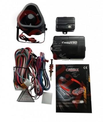 Alarma auto profesionala model CM222OT programabila, Cenmax