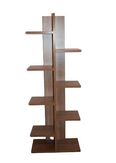 Biblioteca cu rafturi, culoare Stejar Model: 6036.3