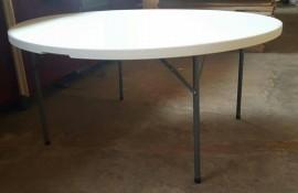 Masa Pliabila Rotunda dia 153 cm Model:3018 Plastic
