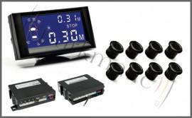 Poze Senzor de parcare cu 8 senzori, pentru BARA FATA & SPATE Model 4305