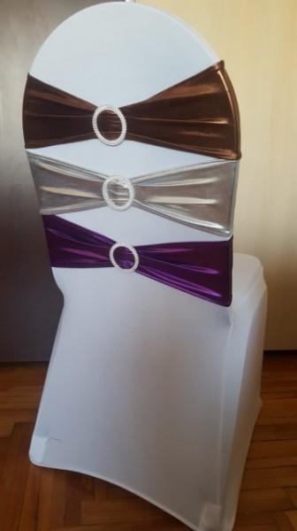 Funde lucioase pentru huse scaune, elastice, diverse culori