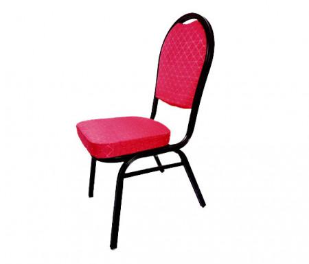 scaun conferinta rosu cu negru