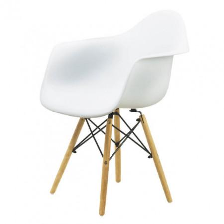 scaun alb