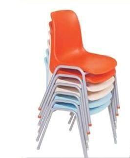 Scaun Metalic Sezut si Spatar Plastic Colorat 2207