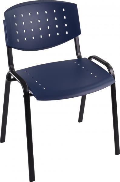 scaun plastic albastru layer