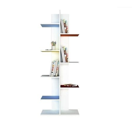 Poze Biblioteca cu rafturi colorate Model: 6036