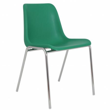 scaun verde plastic