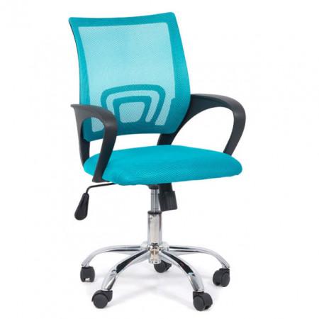 scaun mesh turcoaz