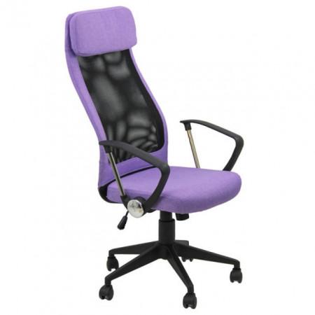 scaun de birou mov