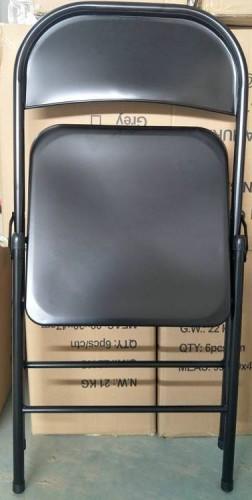 Scaun Metalic Pliabil Negru Model: 2018N