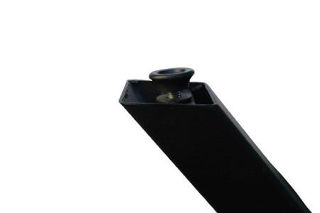 Masa Living Lemn si Sticla, 130x74 cm, Model 276M