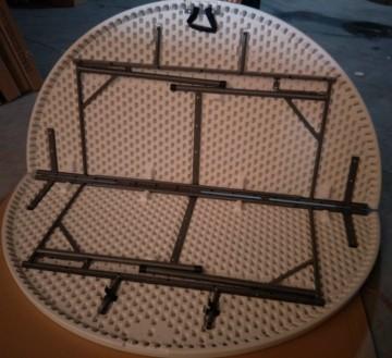 Masa Pliabila Rotunda dia 180 cm Model:3019 Plastic
