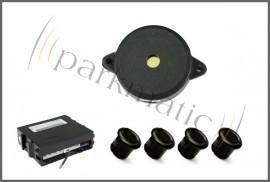 Poze Senzor de parcare cu 4 senzori, avertizare acustica Model 1505
