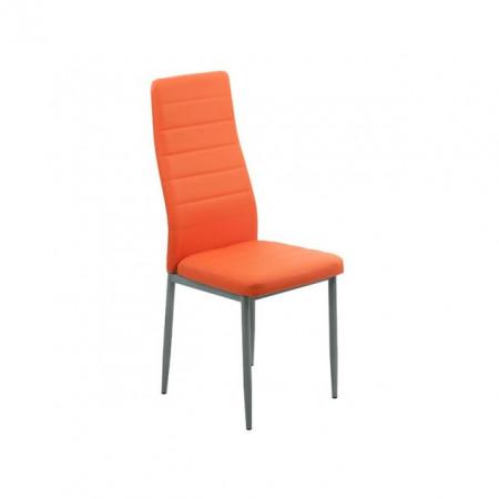 scaun bucatarie  portocaliu