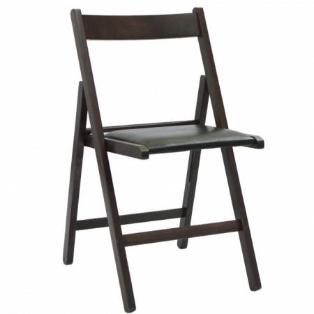 scaun pliabil lemn wenge