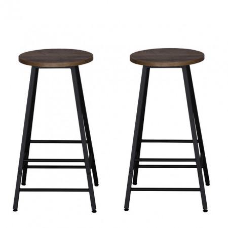 set 2 scaune bar metalice
