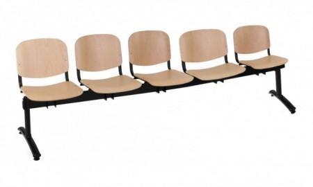 Poze Bancute 5 locuri scaune lemn Taurus vizitatori