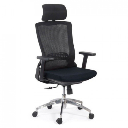 Scaun ergonomic cu brate reglabile SYYT 9504 negru