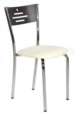 SET Masa Extensibila + 4 scaune cromate wenge Model 3071.03