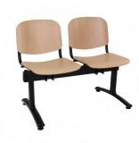 Bancute 5 locuri scaune lemn Taurus vizitatori