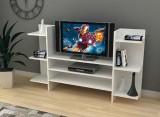 Comoda TV cu rafturi bilaterale, Wenge, Model 6035