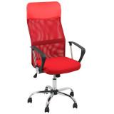 scaun ergonomic rosu