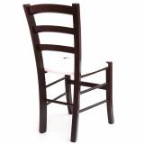 scaun living lemn masiv fag wenge