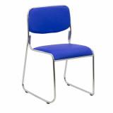 scaun vizitator albastru