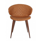 scaun Cover eco piele maro