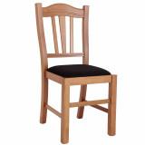 scaun lemn fag piele eco